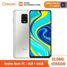 Versão global xiaomi redmi note 9s 4gb ram 64gb rom (novo/selado) redminote9s, redmi, nota, 9s smartphone móvel