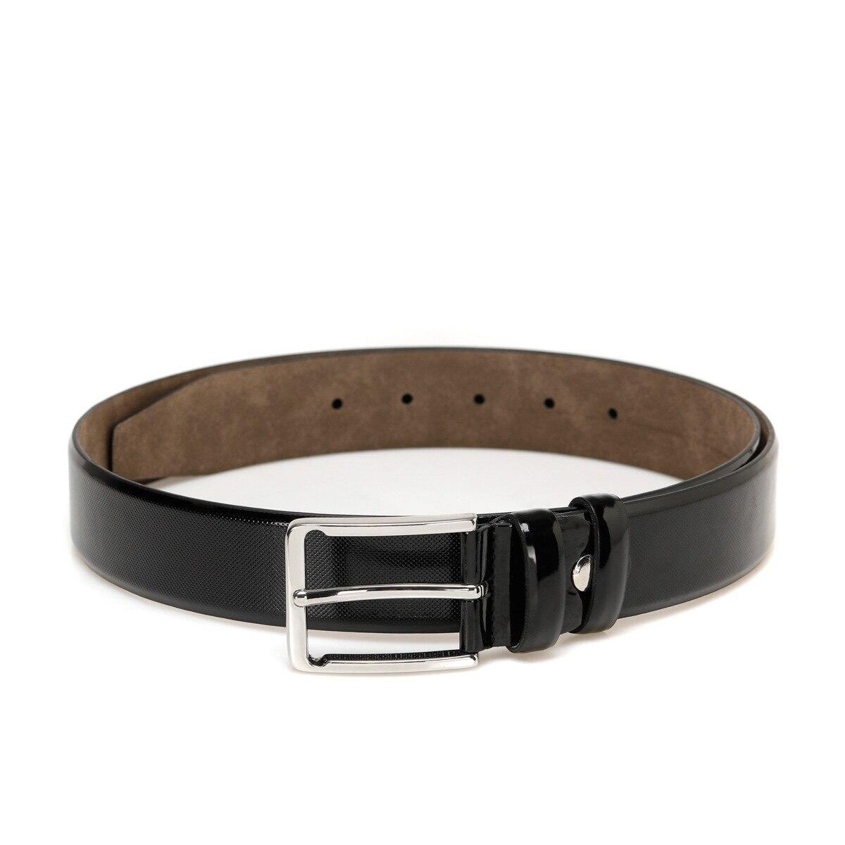 FLO 20M BR RGN IGNE Black Male Belt Garamond