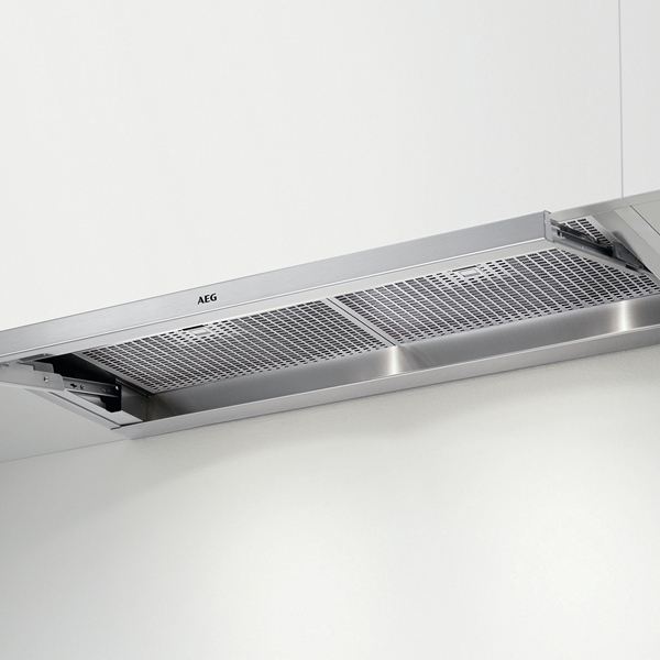 Conventional Hood Aeg DPE3940M 224161 581m3/h 90 Cm Stainless Steel