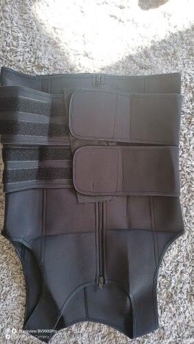 Men Neoprene Sauna Vest With Zipper & Velcro photo review