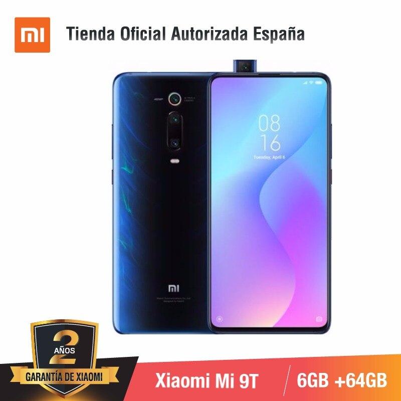 [Version mondiale pour l'espagne] Xiao mi mi 9T (memia interna de 64 GB, RAM de 6 GB, Triple cámara de 48 MP) smartphone
