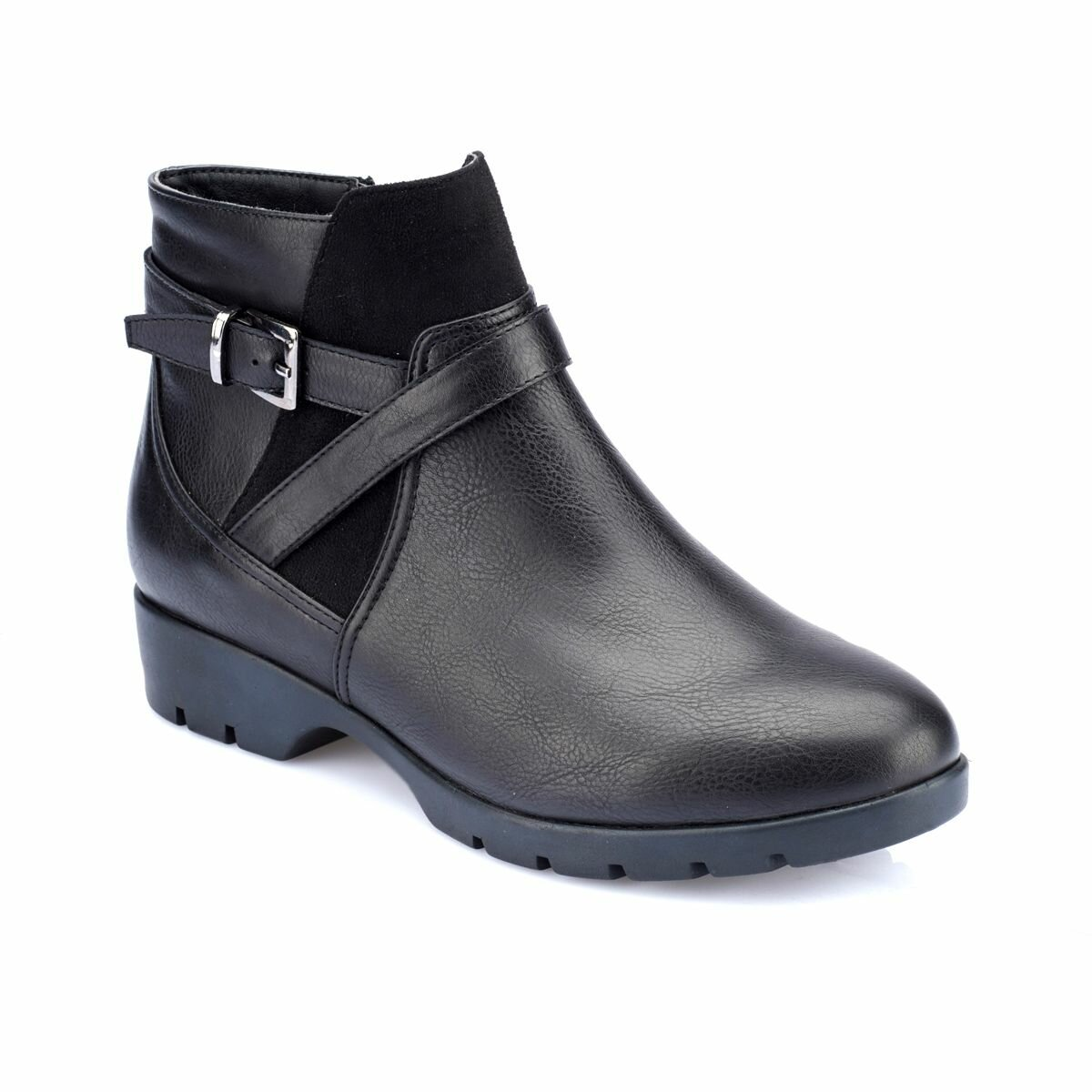 FLO 82.150347.Z Black Women Boots Polaris