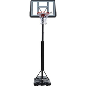 Баскетбольная мобильная стойка DFC STAND44PVC3 110x75 см с раздвижной регулировкой (STAND