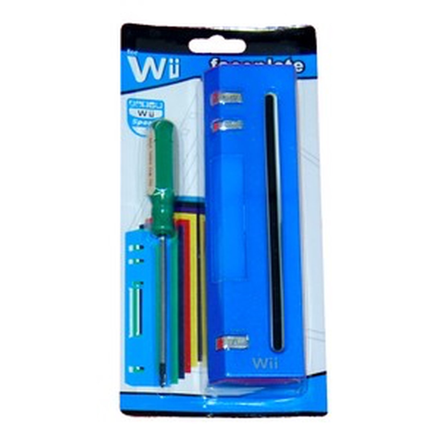 Wii faceplate Kits (BLUE) ultimate band wii