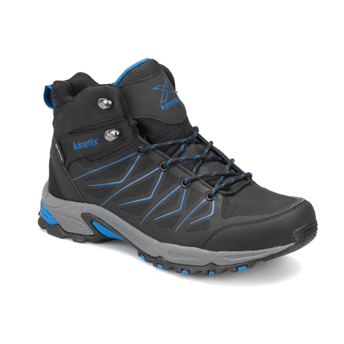 FLO TROY HI WP Black Men 'S Trekking Shoes KINETIX