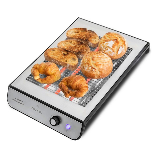 Toaster Cecotec Turbo EasyToast 900W Inox