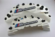 4pc zacisk hamulcowy pokrowce do BMW M mocy biały E30 E36 E46 E39 E90 E91 E92 E60 F80 F82 tanie tanio TR (pochodzenie)