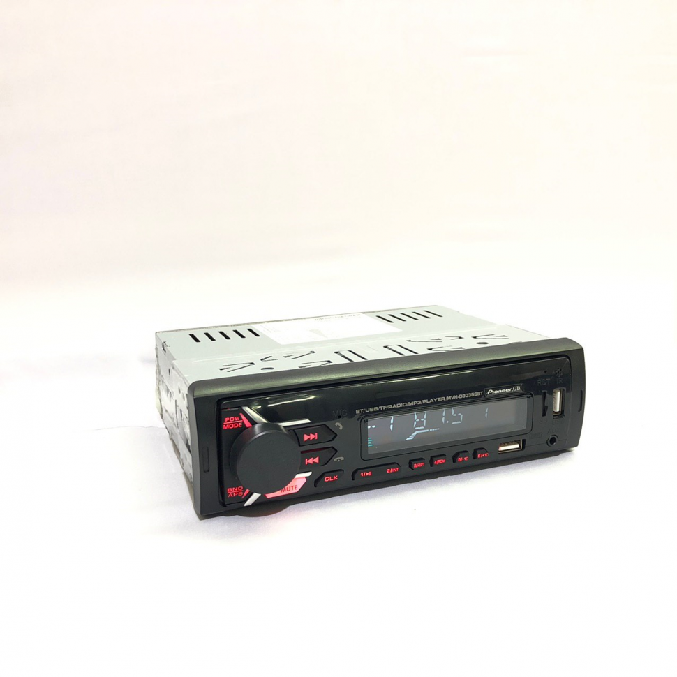 Radio Pioneer  MVH-D3035BT With AM / FM Radio, Bluetooth, Aux-In. Create Your Own Music Library On A USB Flash Drive