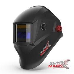 Casque de soudage avec filtre assombrissant automatique (ADF) et verre 9 DIN, masque noir