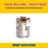 TK RPMT 10 002 KYCR FACE MILLING   HIGH FEED EMR 40X5 016 RPMT 10T3|Hob|   -