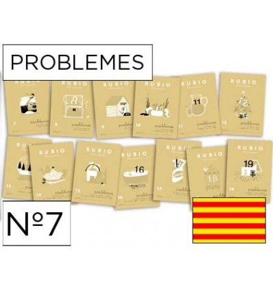 NOTEBOOK BLONDE PROBLEMES NO. 7 CATALAN 10 Pcs