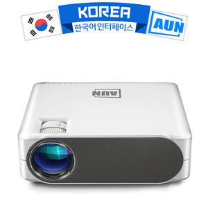 Aun 2019 novo projetor completo hd akey6, 1920x1080 p, opcional akey6s android wifi 3d vídeo beamer, projetor led para cinema em casa 4 k