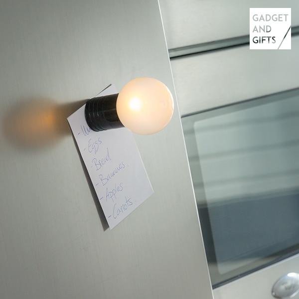 Гаджет и подарки светодиодный светильник лампа магнит на холодильник