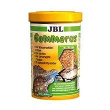Корм-лакомство для черепах JBL Gammarus для водн.черепах,очищенный гаммарус спец.упак 750мл(80г