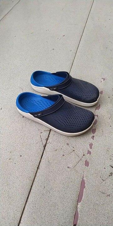 Sandálias de praia & Ao Ar Livre Antiderrapante Zapatillas Slides