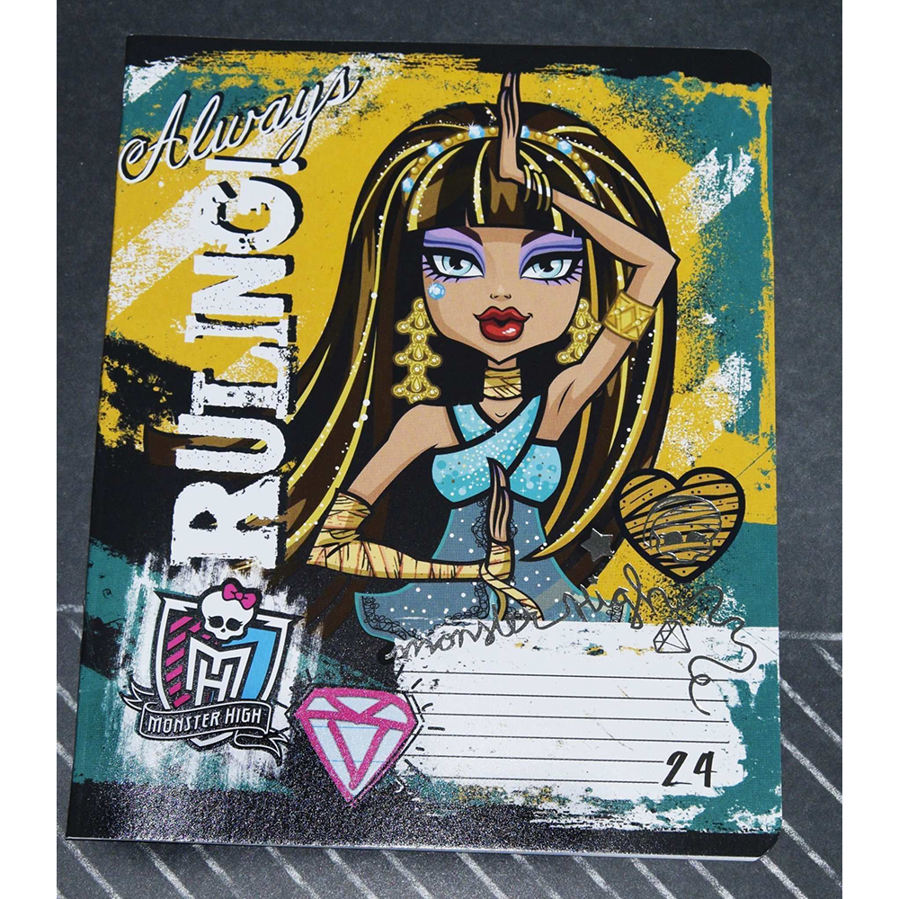 Notebook Monster High 24 sheets line in stock free shipping adm236ljr adm236 sop in stock 5pcs lot ic
