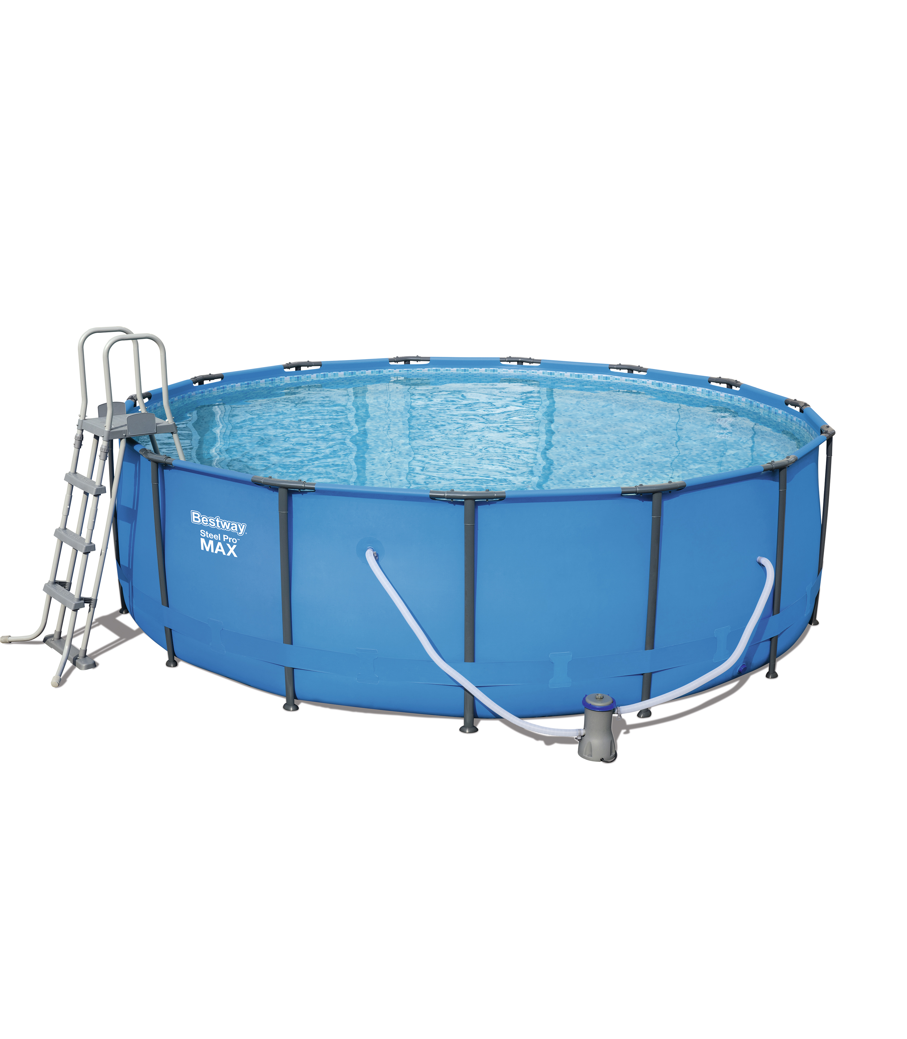 Scaffold Round Basin 457 х122 Cm, 16015 L, Bestway, Blue, Item No. 56438/56100