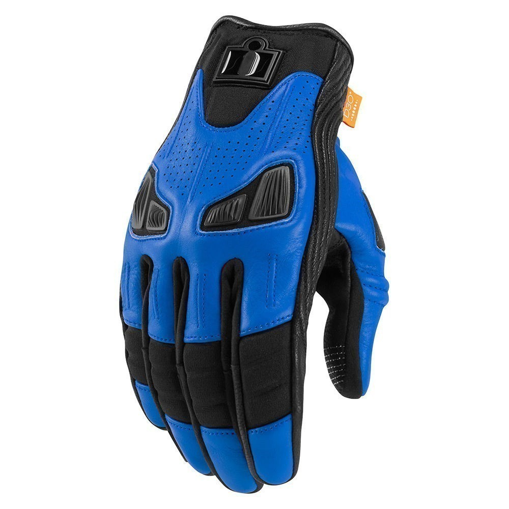 Icon Automag 2 Touchscreen мотоперчатки синие|Перчатки| | АлиЭкспресс