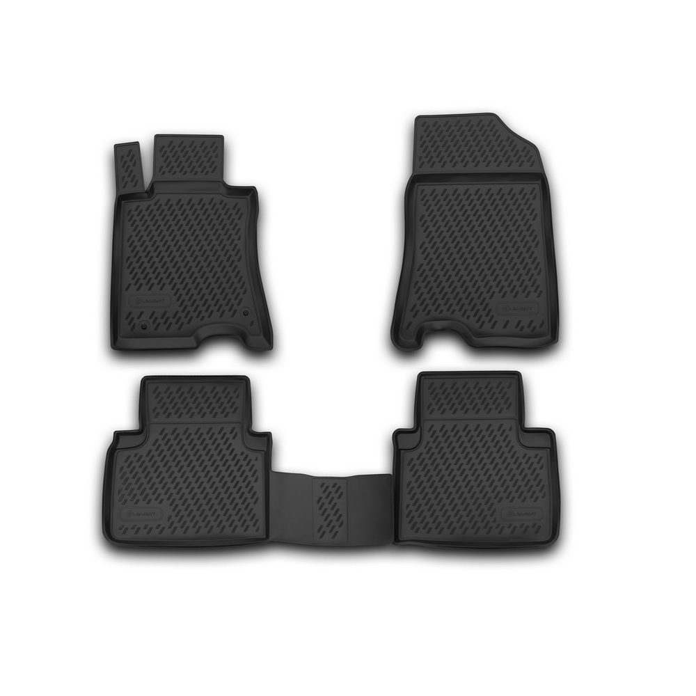 Floor Mats For HONDA Crosstour 01/2013, 2WD, 4 PCs CARHND00001