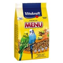 Корм для птиц VITAKRAFT MENU VITAL для волнистых попугаев 500г