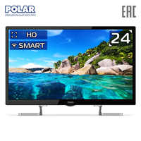 LED Television POLAR P24L51T2CSM Consumer Electronics Home Audio Video Equipments Smart TV 30InchTv