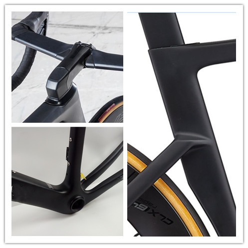2019 Carbon Road Bike Frame 700C Di2 Competitive Road Disk Frameset Size:49-52-54-56-58cm Made In Taiwan