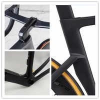 Nouveau cadre de vélo de route en carbone UD mat couleur classique cadre de vélo en carbone 49-52-54-56-58cm cadre de vélo à disque livraison rapide