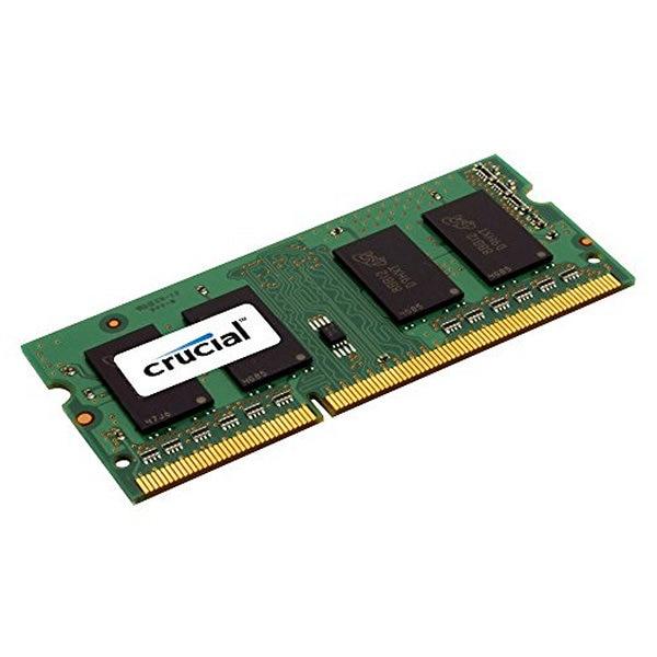 Mémoire RAM Crucial CT51264BF160BJ 4 GO DDR3 PC3-12800