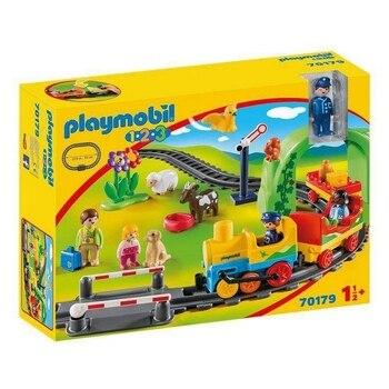 Playset My First Train 1.2.3 Playmobil 70179