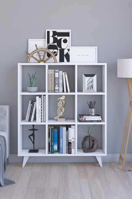 Classic Cubed Book Shelf 2