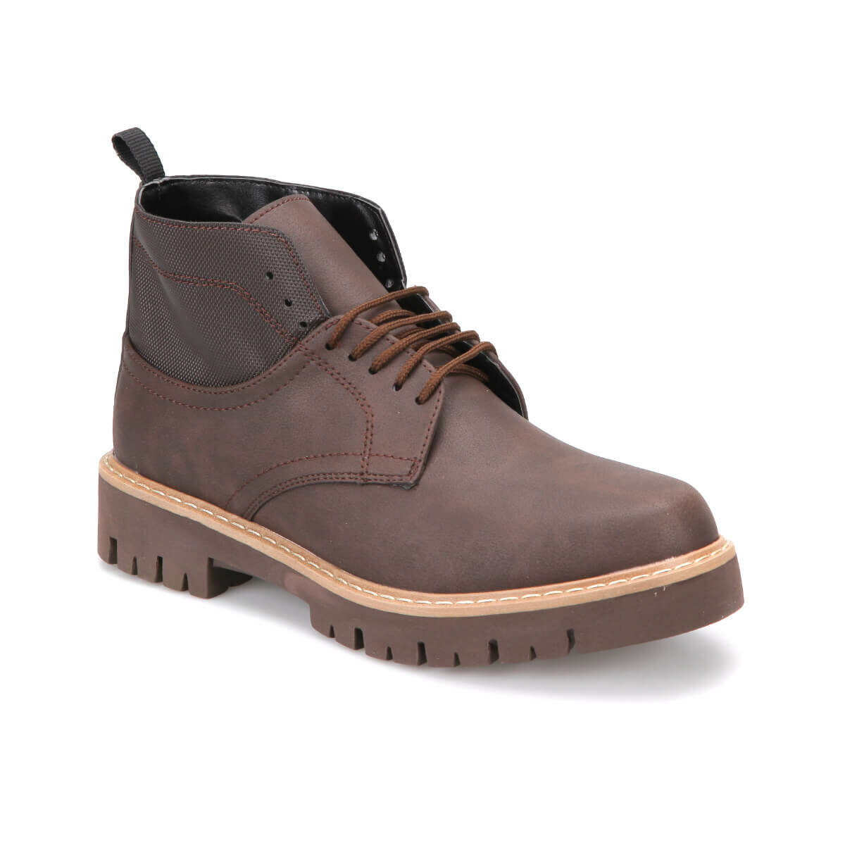 FLO 61372 Brown Men Boots JJ-Stiller