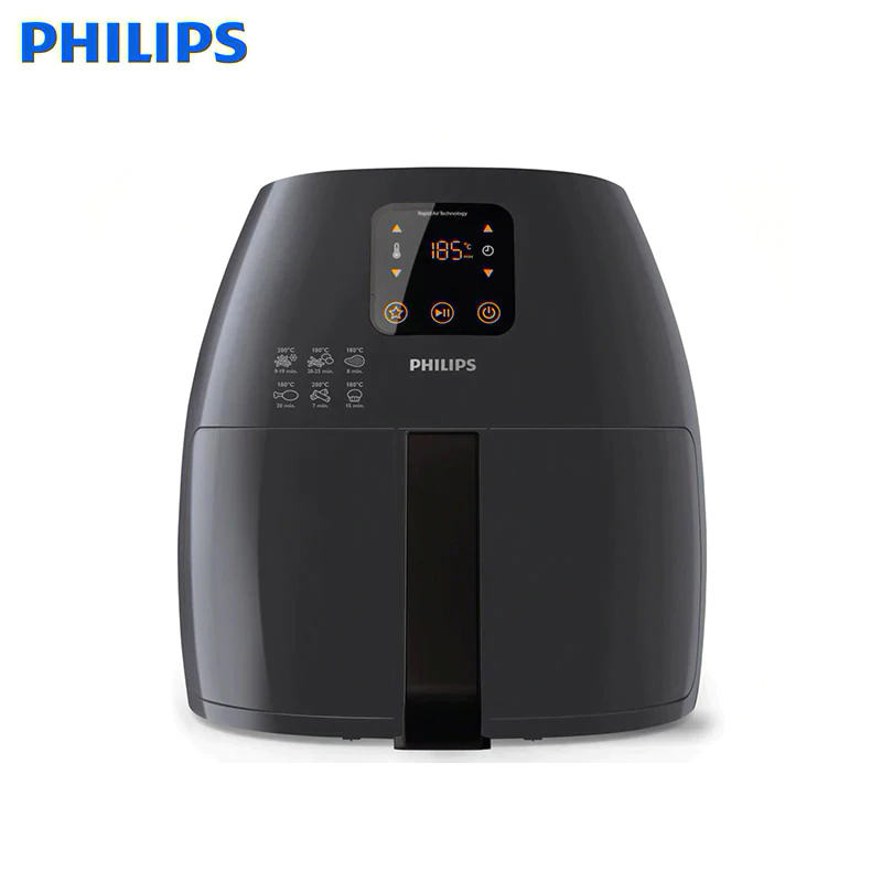Aerogril XL With Rapid Air Deep Fryer Aerogrill Oven Frying Philips Avance Collection HD9241/40 Aero Grill Air Fryer