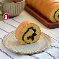 红豆沙戚风蛋糕卷的做法图解19
