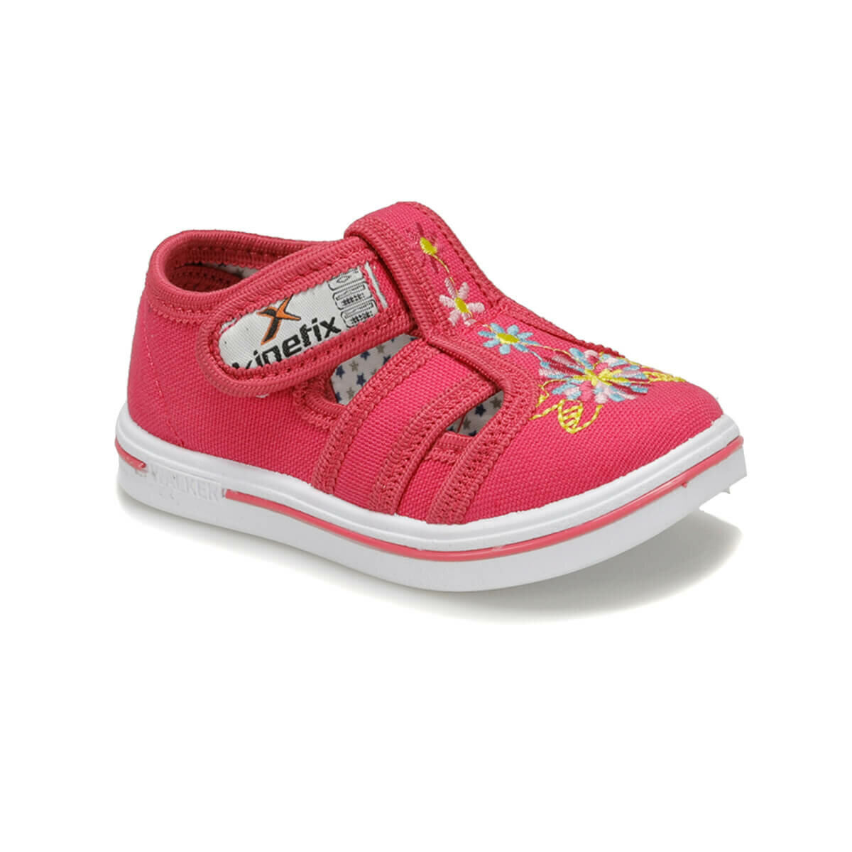 FLO ZYRA Fuchsia Female Child Sneaker Shoes KINETIX