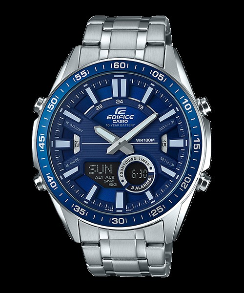 Casio Edifice EFV-C100D-2AV Men Watch Brand Luxury Quartz 100m. Waterproof Telememory   Sport Military Watch Relogio Masculino