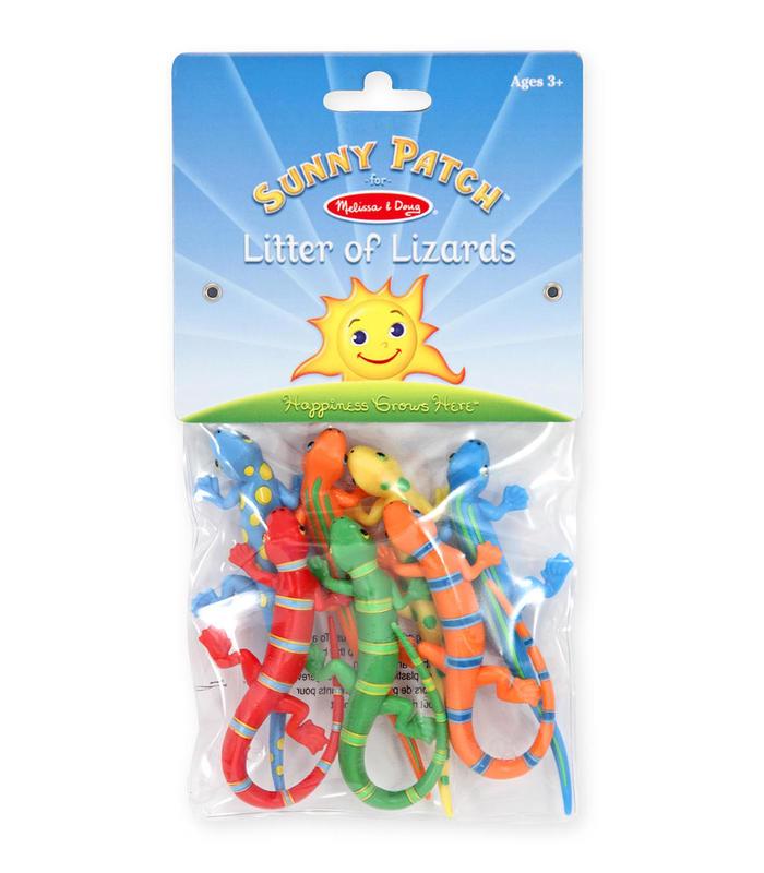 Bag Lizards Colorful Toy Store Melissa & Doug