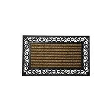 Doormat Coconut Fiber and Rubber Striped 45×75 cm.