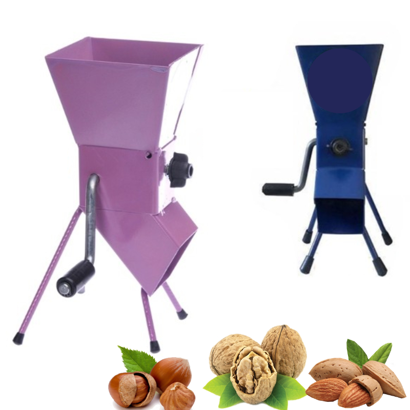 Easy Cracker Hazelnut Walnut Almond Pistachio - Practical Home Type Shell Nuts Cracker - Whole Body And Mechanism Made Of Metal
