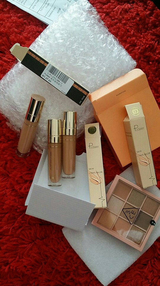 Face Contour Concealer Liquid Waterproof Full Coverage Foundation Corrector Palette Base Professional Makeup For Dark Skin photo review