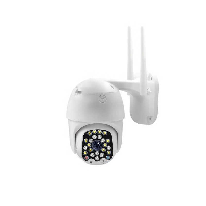 Wireless WIFI IP Kamera 23LED 1080P PTZ Outdoor Speed Dome Kamera Keamanan Pan Tilt 5X Digital Zoom Jaringan CCTV pengawasan