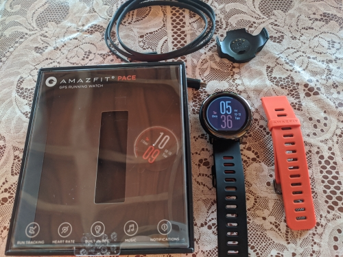 Original Amazfit Pace Smartwatch Amazfit Smart Watch Bluetooth Notification GPS Information Push Heart Rate Monitor for Android|Smart Watches|   - AliExpress