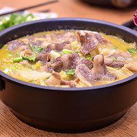 金汤肥牛白菜的做法图解9