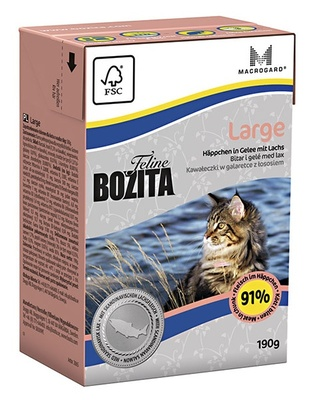 Bozita jelly pieces for cats large breeds 0,19 kg x 12 PCs