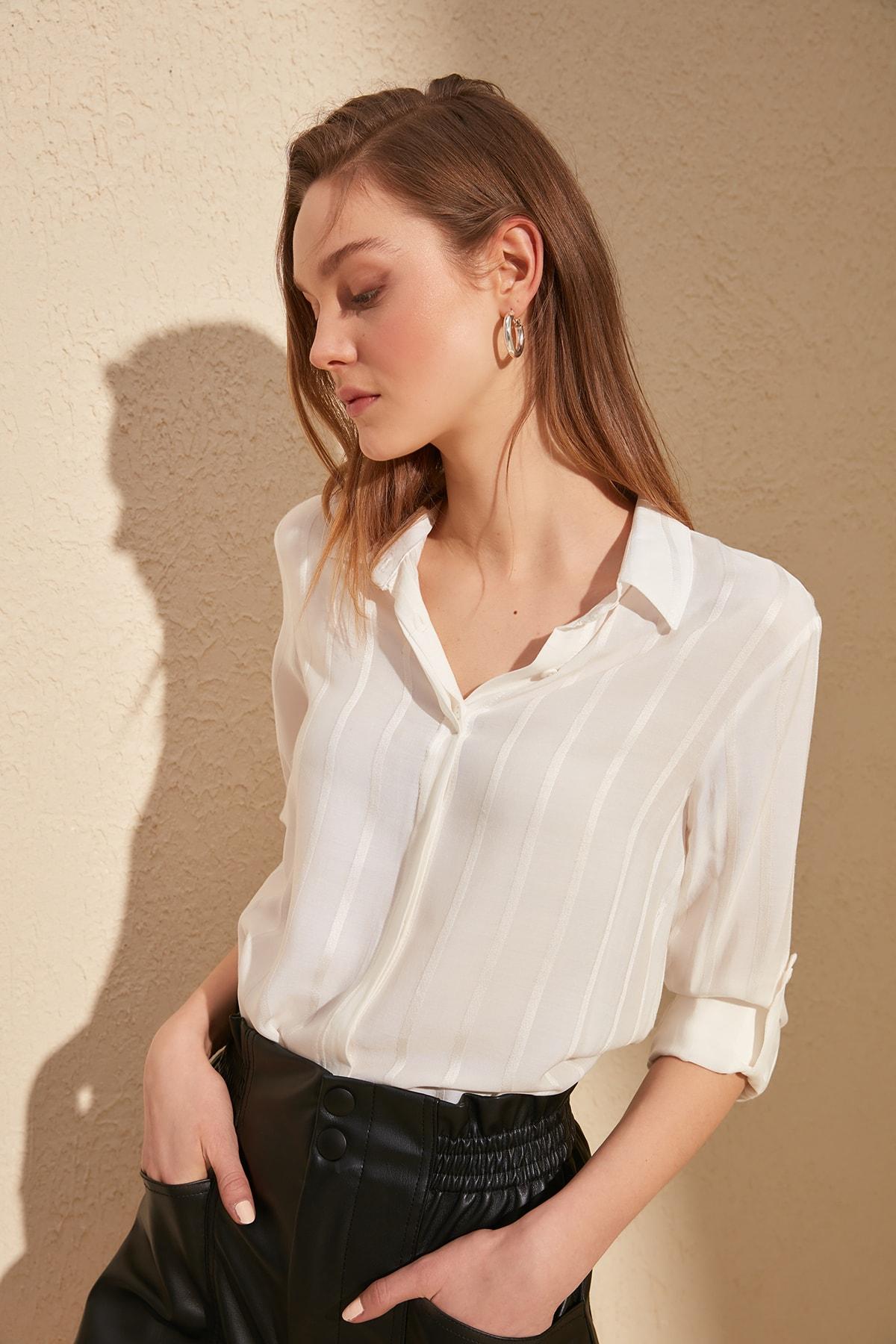 Trendyol Striped Shirt TWOSS20GO0204