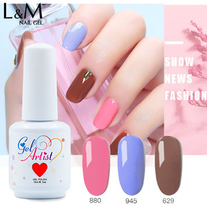 Image 5 - Vernis à ongles en Gel pour artiste Uv, 22 couleurs, + 1 haut + 1 Base, 24 pièces, vernis à ongles, nail Art à la française, 24 pièces