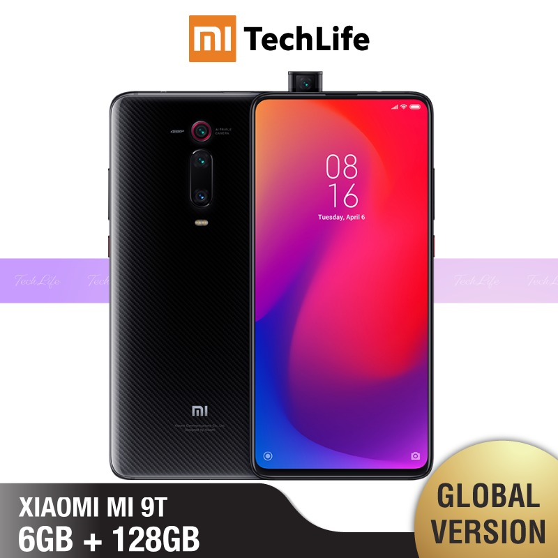 <font><b>Global</b></font> Version <font><b>Xiaomi</b></font> Mi 9T <font><b>128GB</b></font> ROM 6GB RAM (Brand New / Sealed) mi 9 t, <font><b>mi9t</b></font>, mi 9, mi9 image