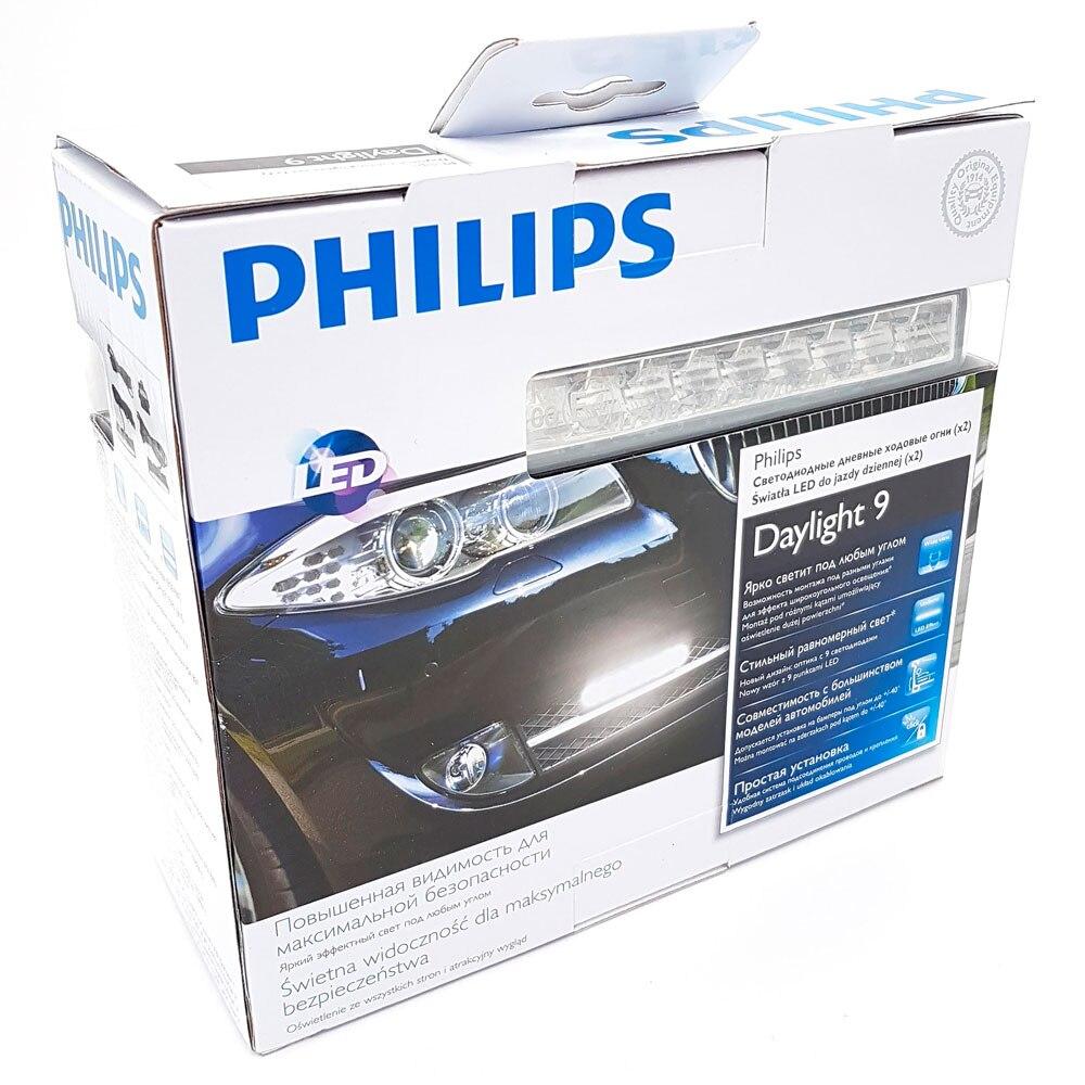 Дневные ходовые огни (ДХО) Philips LED DayLight 9 12831WLEDX1