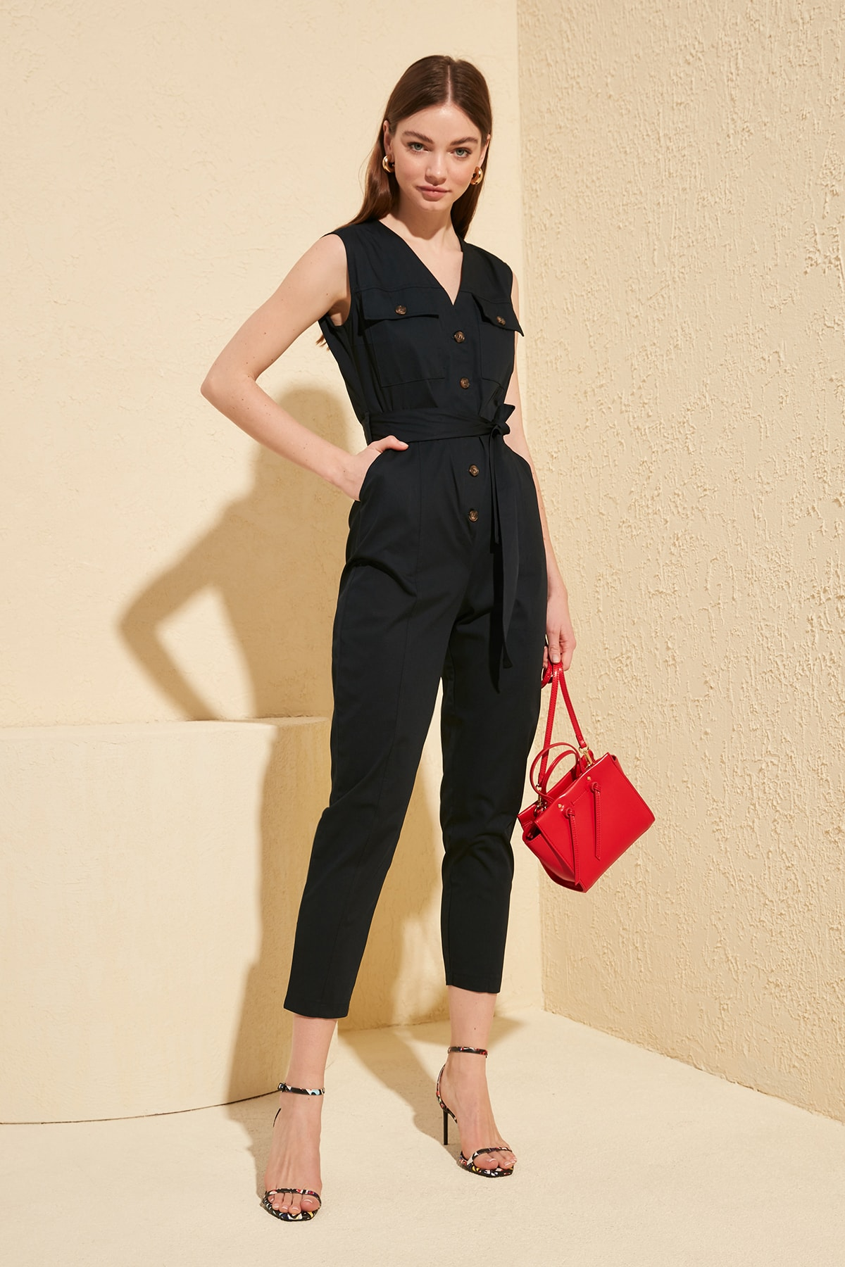 Trendyol Button Jumpsuit TWOSS20TU0016