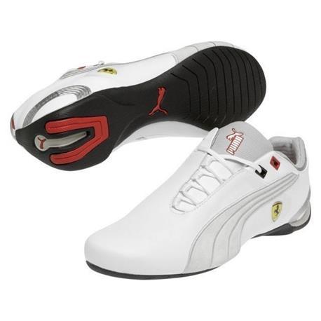 Chaussures Ferrari chat M2 SF blanc pointure 44