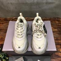 Triple S Men and women sneakers Luxury pairs sneakers fashion